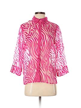 Studio Works 3/4 Sleeve Blouse Size S