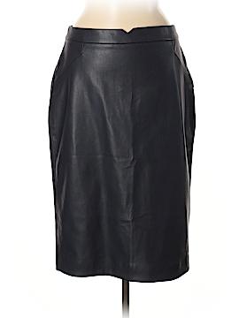 Philosophy Republic Clothing Faux Leather Skirt Size 8