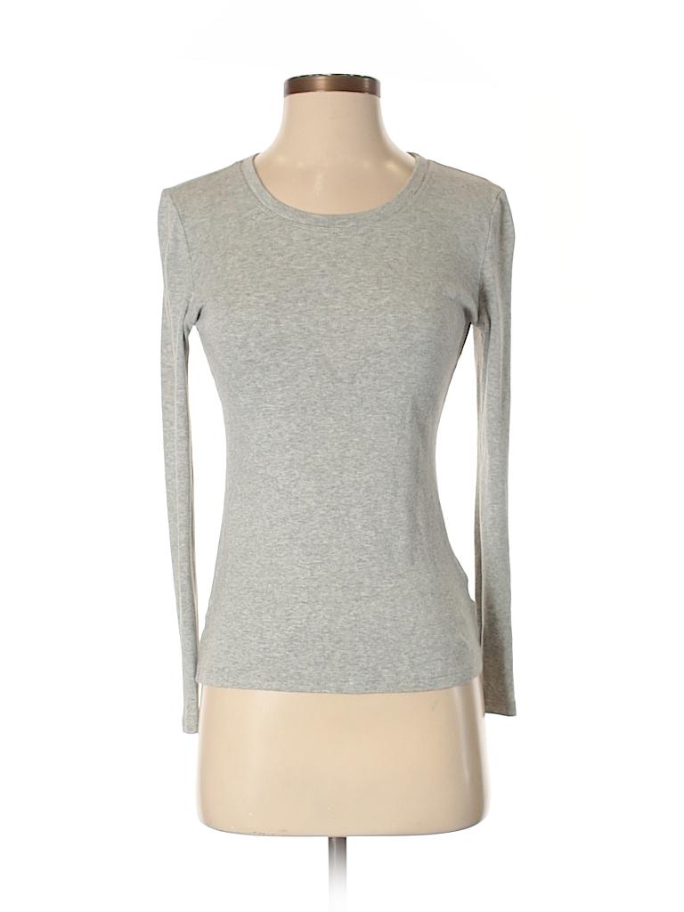 Gap Body Outlet Women Long Sleeve T-Shirt Size S