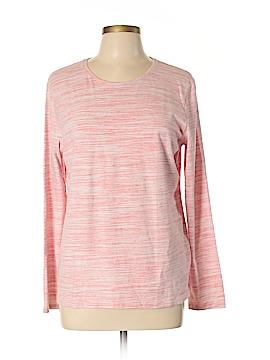 Croft & Barrow Long Sleeve T-Shirt Size L