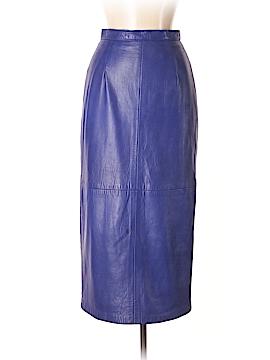 DANIER Faux Leather Skirt Size 8