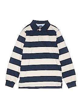 E-Land Long Sleeve Polo Size 12