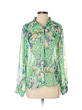 I. Madeline Long Sleeve Blouse Size S