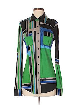 Tory Burch Long Sleeve Silk Top Size S