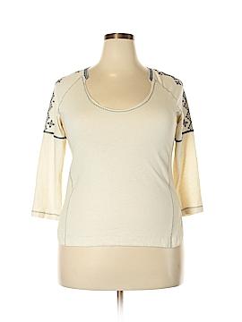 Madewell 3/4 Sleeve Top Size 3X (Plus)