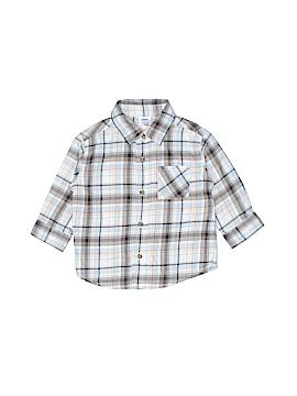 Gymboree Long Sleeve Button-Down Shirt Size 12-18 mo