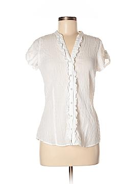 Eddie Bauer Short Sleeve Blouse Size S