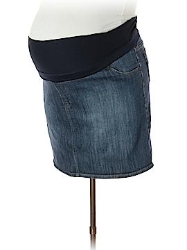 Liz Lange Maternity for Target Denim Skirt Size XXL (Maternity)