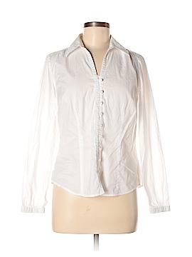 Ann Taylor LOFT Long Sleeve Button-Down Shirt Size 6