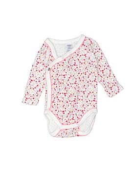 Petit Bateau Long Sleeve Onesie Newborn