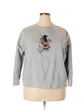 Just My Size Sweatshirt Size 2X (Plus)
