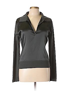 Elie Tahari Silk Pullover Sweater Size L