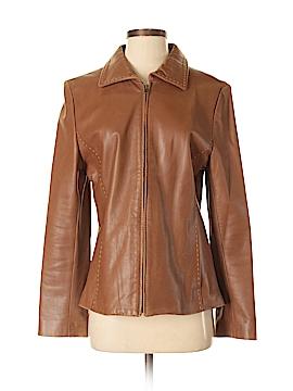 Via Spiga Leather Jacket Size M
