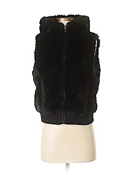 Ann Taylor LOFT Faux Fur Vest Size S (Petite)