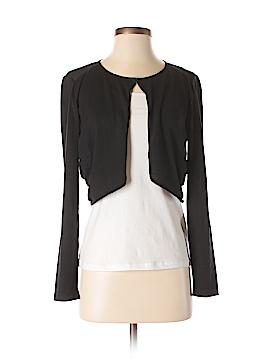 Lafayette 148 New York Silk Cardigan Size S