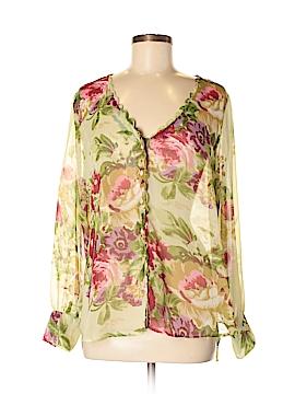 Soft Surroundings Long Sleeve Blouse Size M