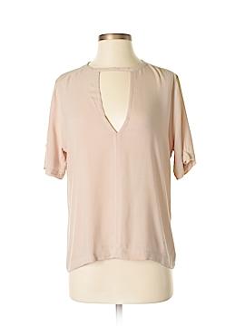 Olivaceous Short Sleeve Blouse Size S