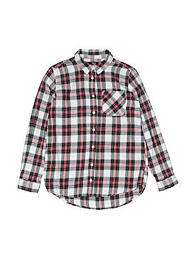 Gap Kids Outlet Long Sleeve Button-Down Shirt Size 12