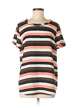 Ann Taylor Short Sleeve Blouse Size M