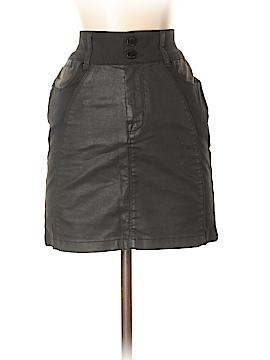 Karen Millen Faux Leather Skirt Size Sm (2)