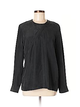 Kate Spade Saturday Long Sleeve Silk Top Size M
