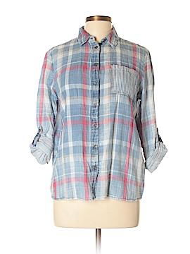 Mavi Long Sleeve Button-Down Shirt Size M