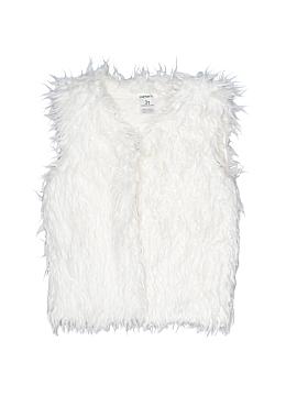 Carter's Faux Fur Vest Size 3T