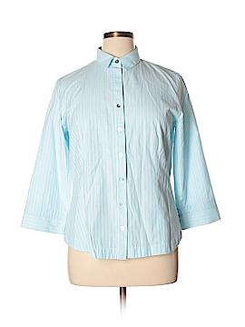 Finley 3/4 Sleeve Button-Down Shirt Size XL