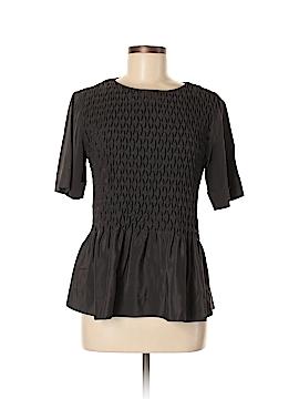 Rag & Bone Short Sleeve Silk Top Size M