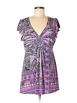 Apt. 9 Short Sleeve Blouse Size M