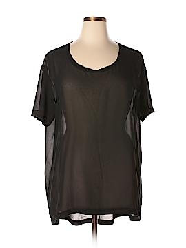 14th & Union Short Sleeve Blouse Size 1X (Plus)