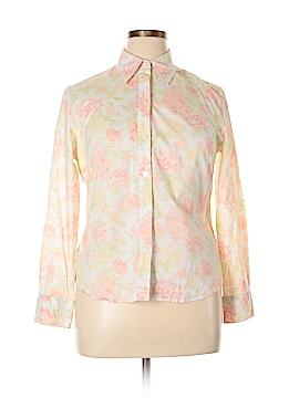 Jones New York Long Sleeve Button-Down Shirt Size 12