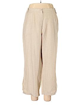 Liz Claiborne Linen Pants Size 3X (Plus)