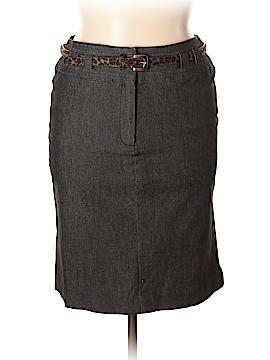 Sandro Sportswear Denim Skirt Size 14