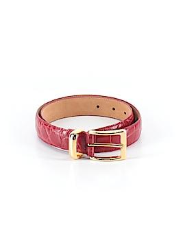 Ellen Tracy Leather Belt Size M
