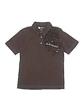 Quiksilver Short Sleeve Polo Size 8 - 10