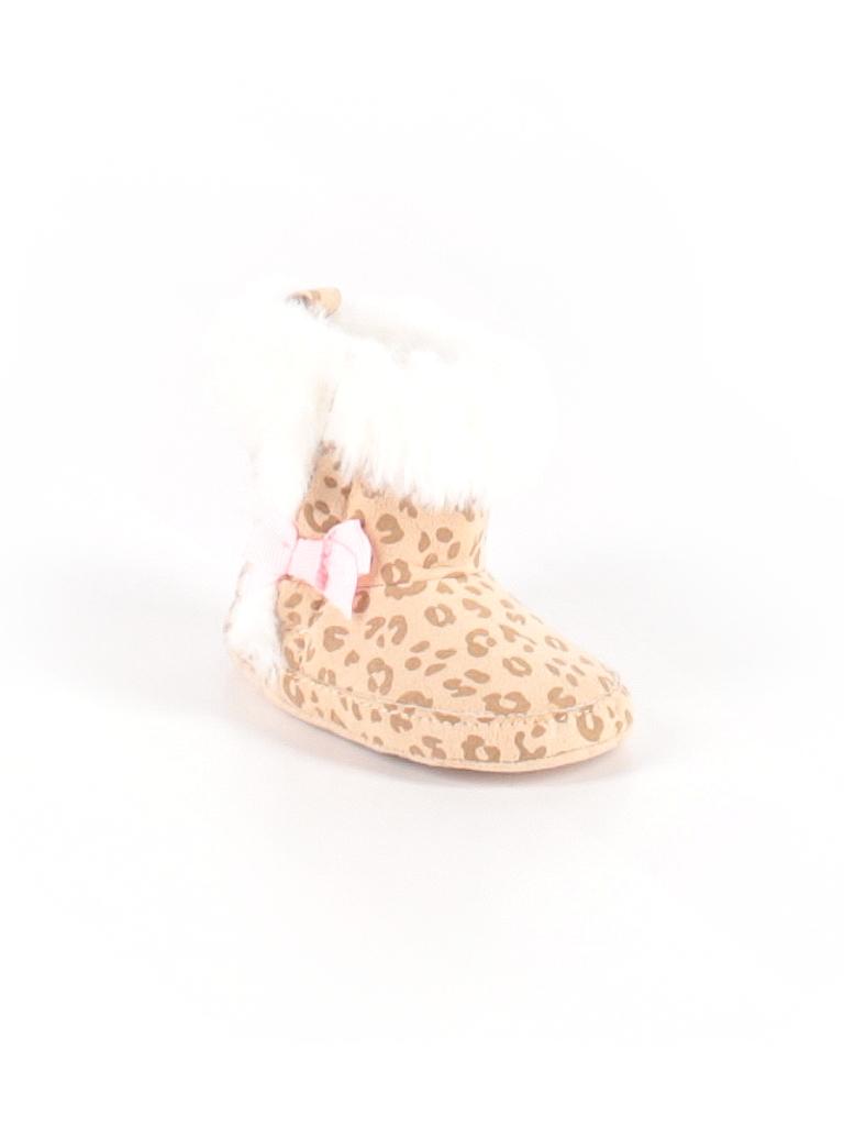 Carter's Girls Booties Size 0-3 mo