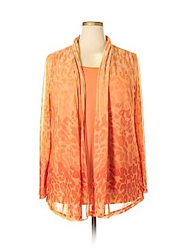 Susan Graver Long Sleeve Top Size 1X (Plus)