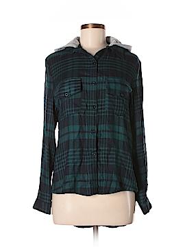 Noble U Long Sleeve Button-Down Shirt Size M