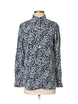 Wonder Long Sleeve Silk Top Size S