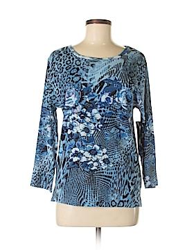 Jane Ashley 3/4 Sleeve T-Shirt Size M