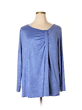 Fashion Bug Long Sleeve Top Size 2X (Plus)