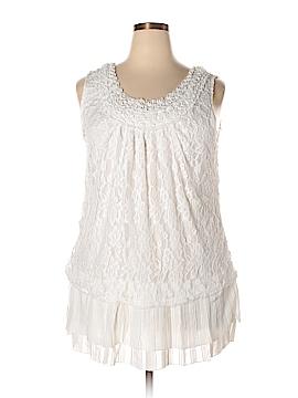 Simply Irresistible Sleeveless Top Size 2X (Plus)