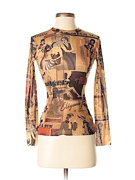Jean Paul Gaultier Long Sleeve Top One Size