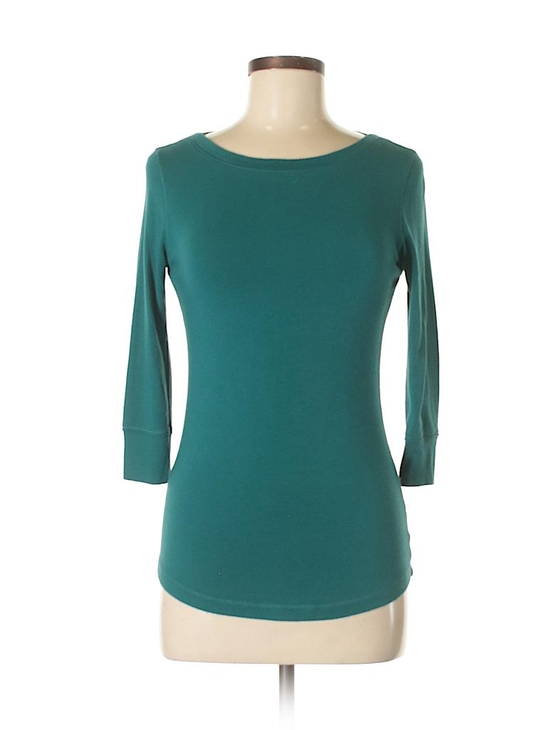Willi Smith Women 3/4 Sleeve Top Size M