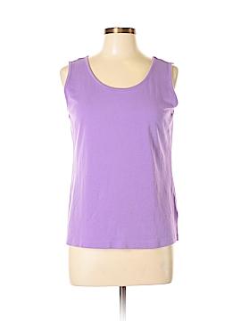 Lands' End Sleeveless T-Shirt Size L