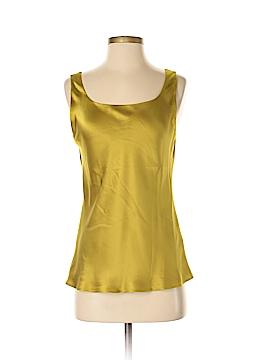 Lafayette 148 New York Sleeveless Silk Top Size 4
