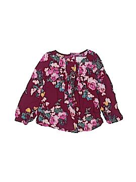 H&M L.O.G.G. Long Sleeve Blouse Size 3