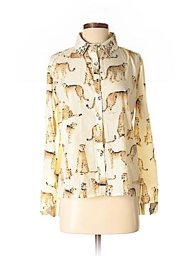 The Hanger Long Sleeve Blouse Size S