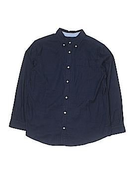 Talbots Kids Long Sleeve Button-Down Shirt Size 16